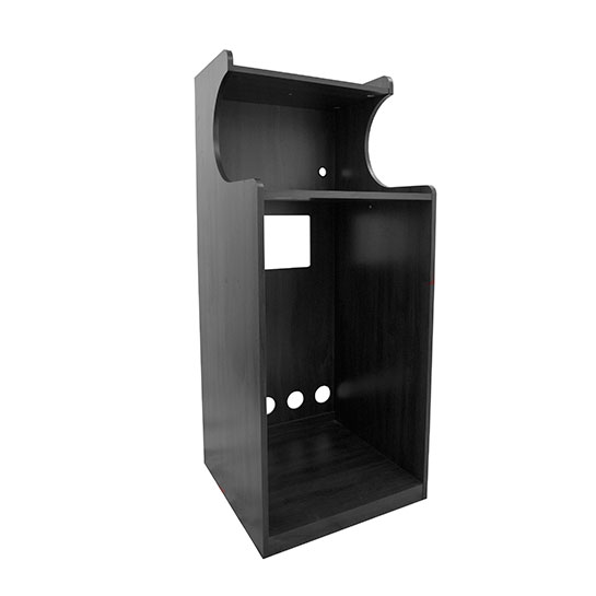 Black Micro Fridge Cabinet